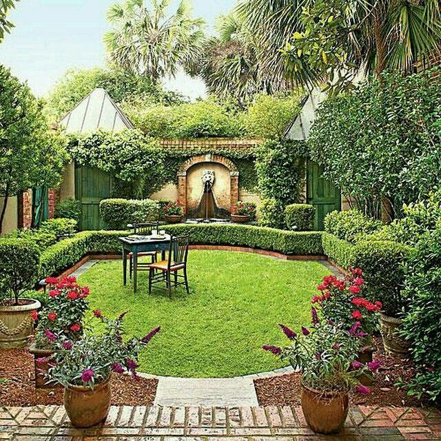 Co Co's Collection : Formal garden # structure # roses # boxwood beautiful spaces need to be used frequently