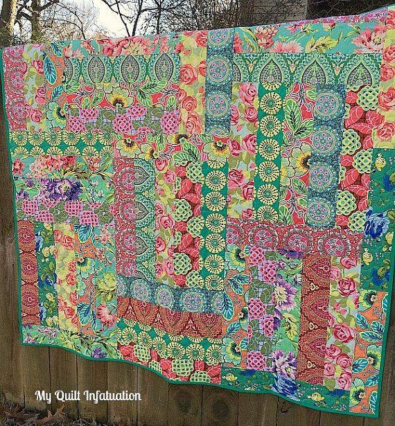 Amy Butler Boho Modern Quilt | crafts and homemade gifts | Pinterest ...
