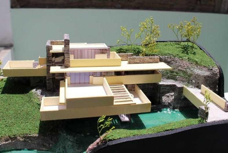 Proyectos importantes de arquitectura maquetas modelos a for Croquis de casas