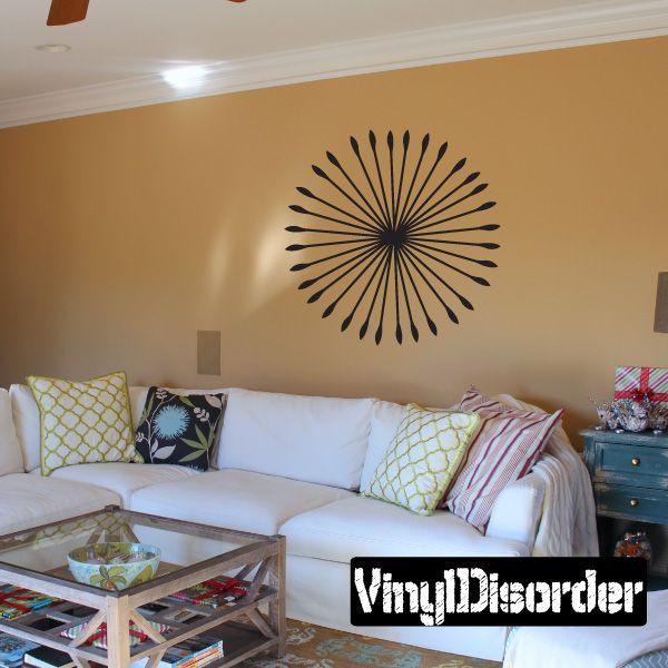 Dandelion Wall Decal - Vinyl Decal - Car Decal - Mv017
