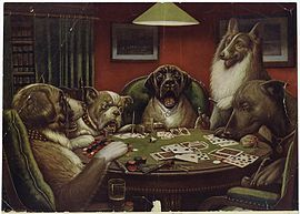A Classic One Of The Dogs Playing Poker Series This One S Called Waterloo C 1906 I Like It Becaus Dogs Playing Poker Posters Art Prints Art History
