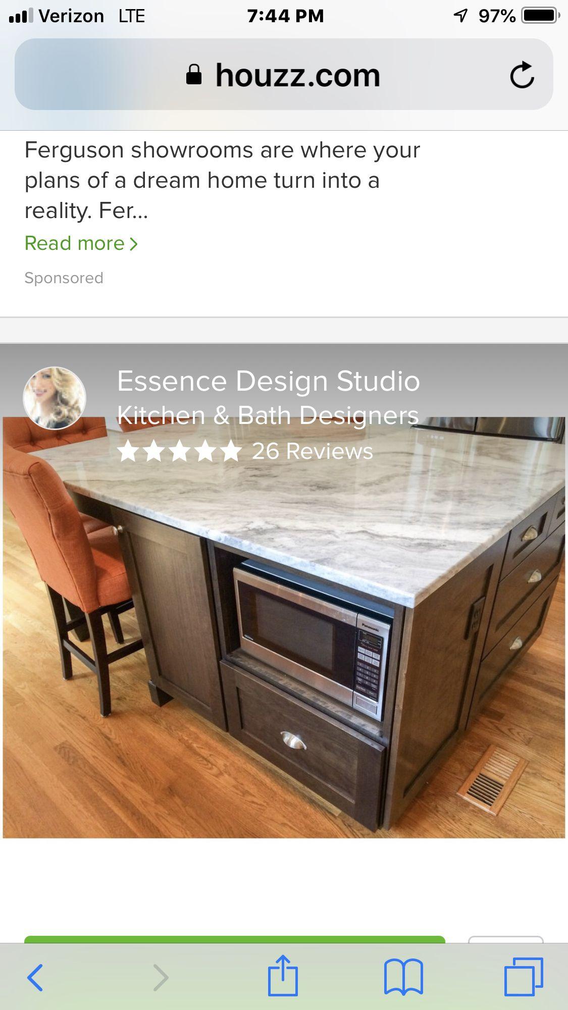 Pin By Pamela M Frees On Countertops Studio Kitchen Bath Design