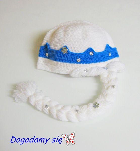 Mütze Elsa Von Häkeln Für Kinder Auf Dawandacom Häkelei Mütze