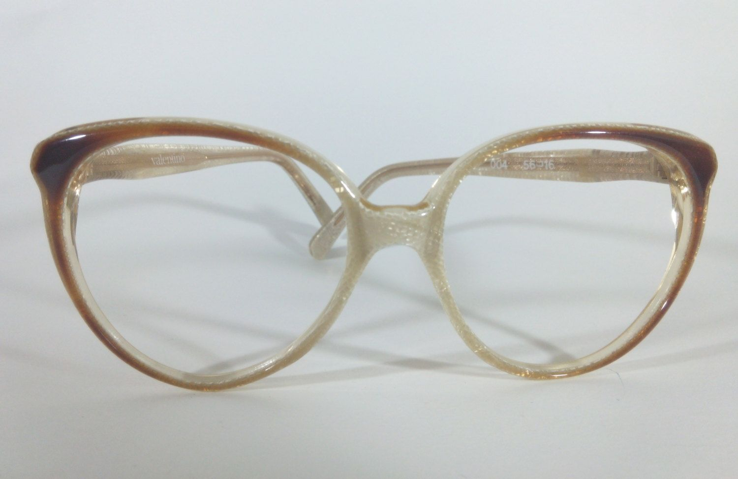 Vintage Eyeglasses, Valentino 004, Cat Eye Glasses, 70s, Womens ...