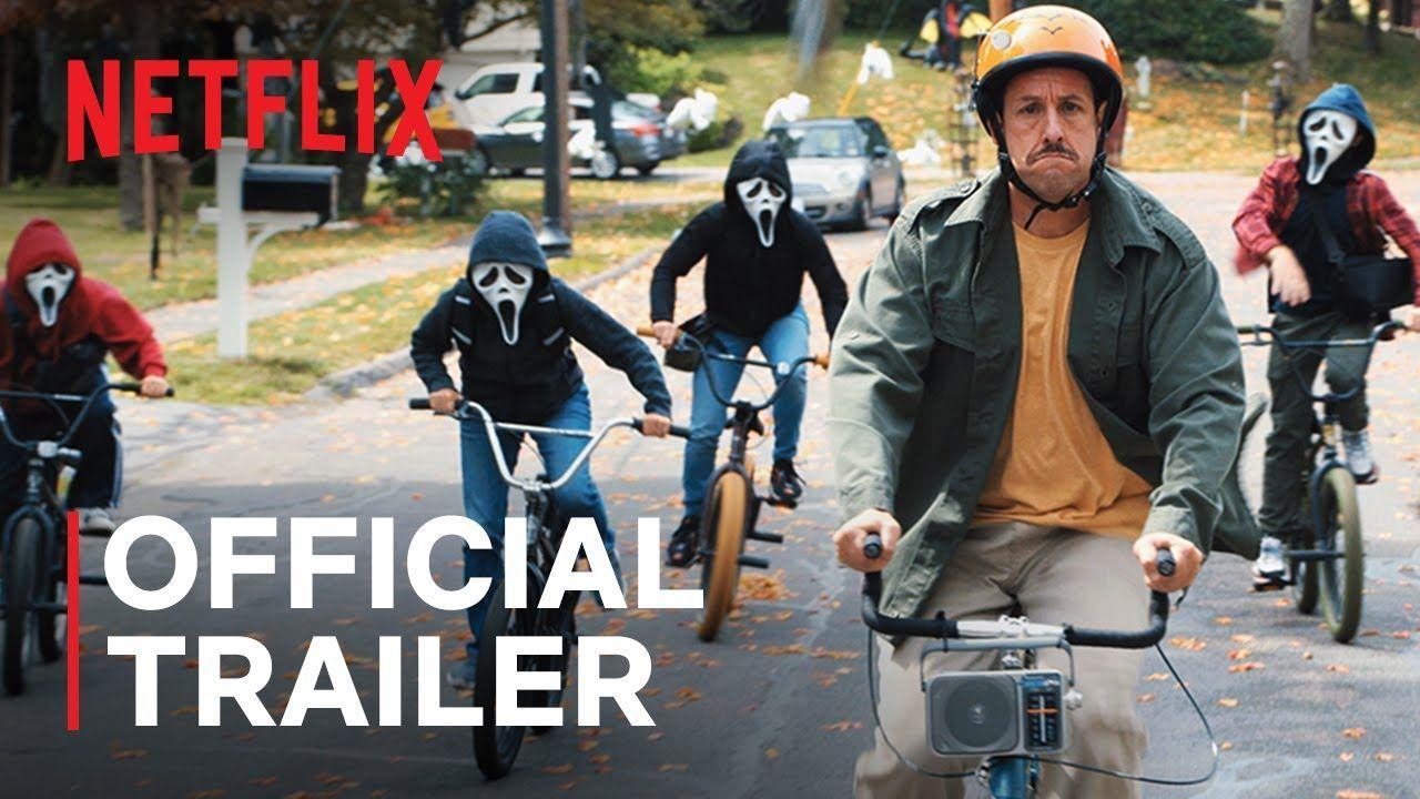 Hubie Halloween 2020 Trailer Peyton List Adam Sandler Julie Bowen In 2020 Adam Sandler Netflix Official Trailer