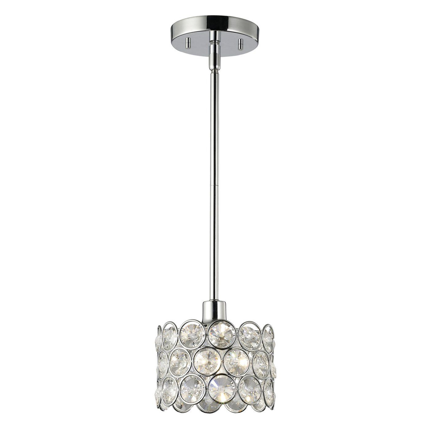 Canarm Ipl104A01Ch 1 Light Alice Mini Pendant  Lighting Universe