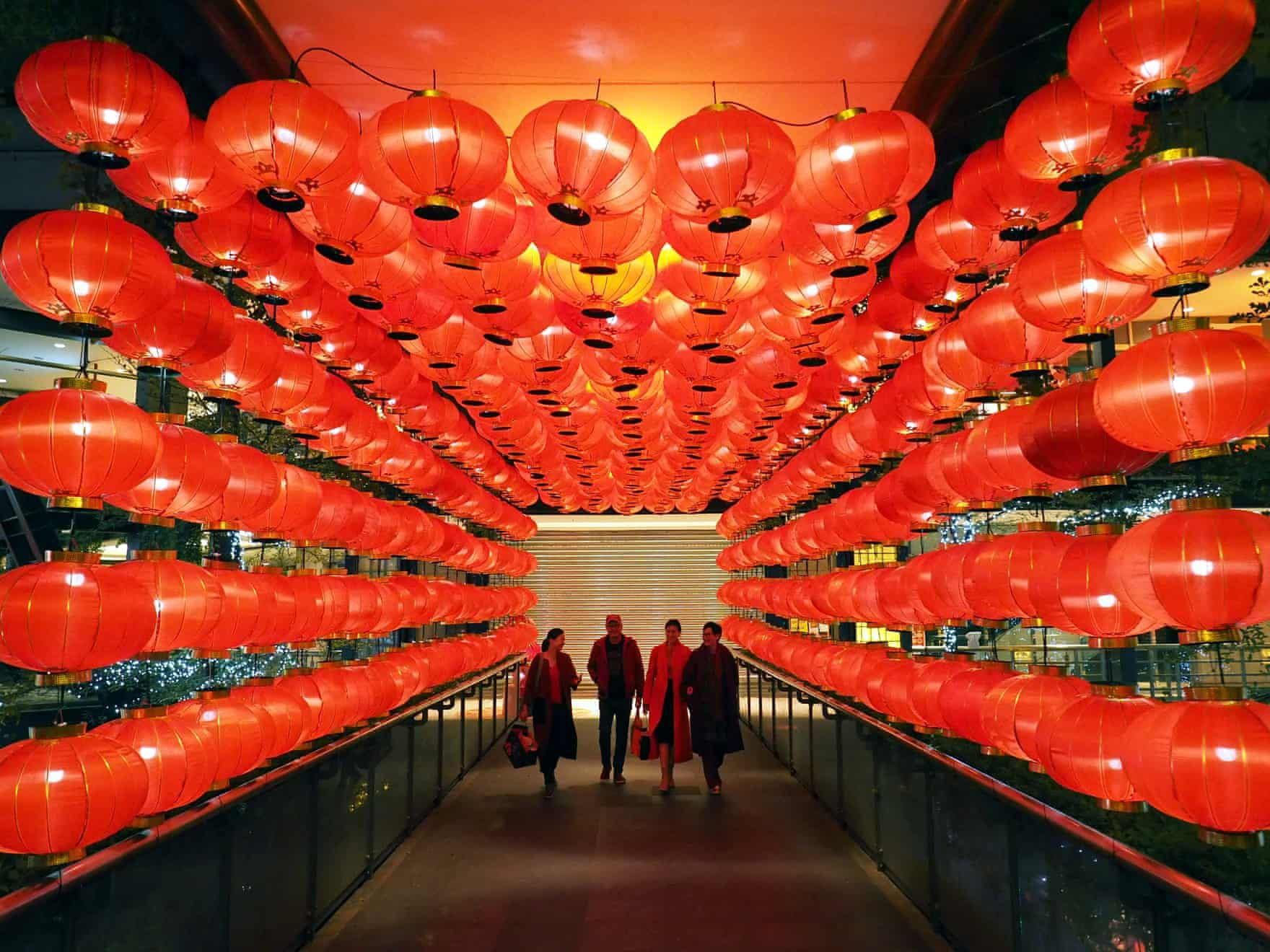 Chinese lunar new year 2019 in pictures Red lantern