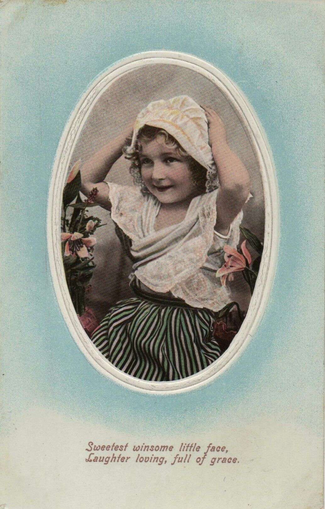 Sweetest winsome little face Laughter loving, full of grace 1906
