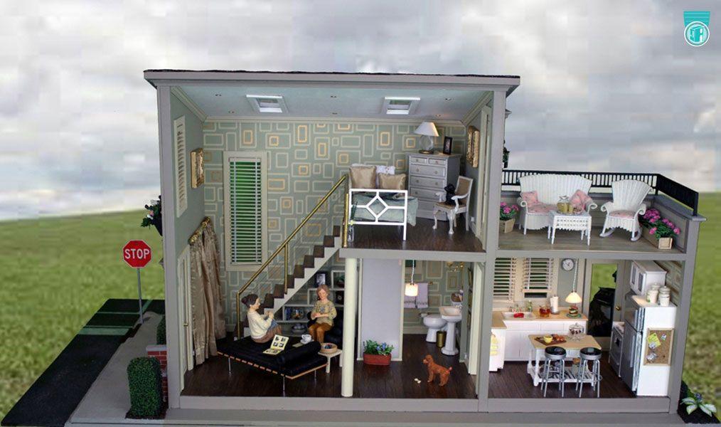 Modern mini houses casitas modernas pinterest casas for Mini casas modernas