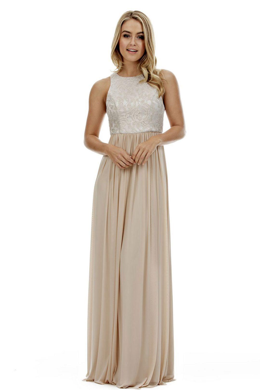 After wedding dress ideas   Brilliant Gold Long Wedding Dresses For Bridesmaid Ideas