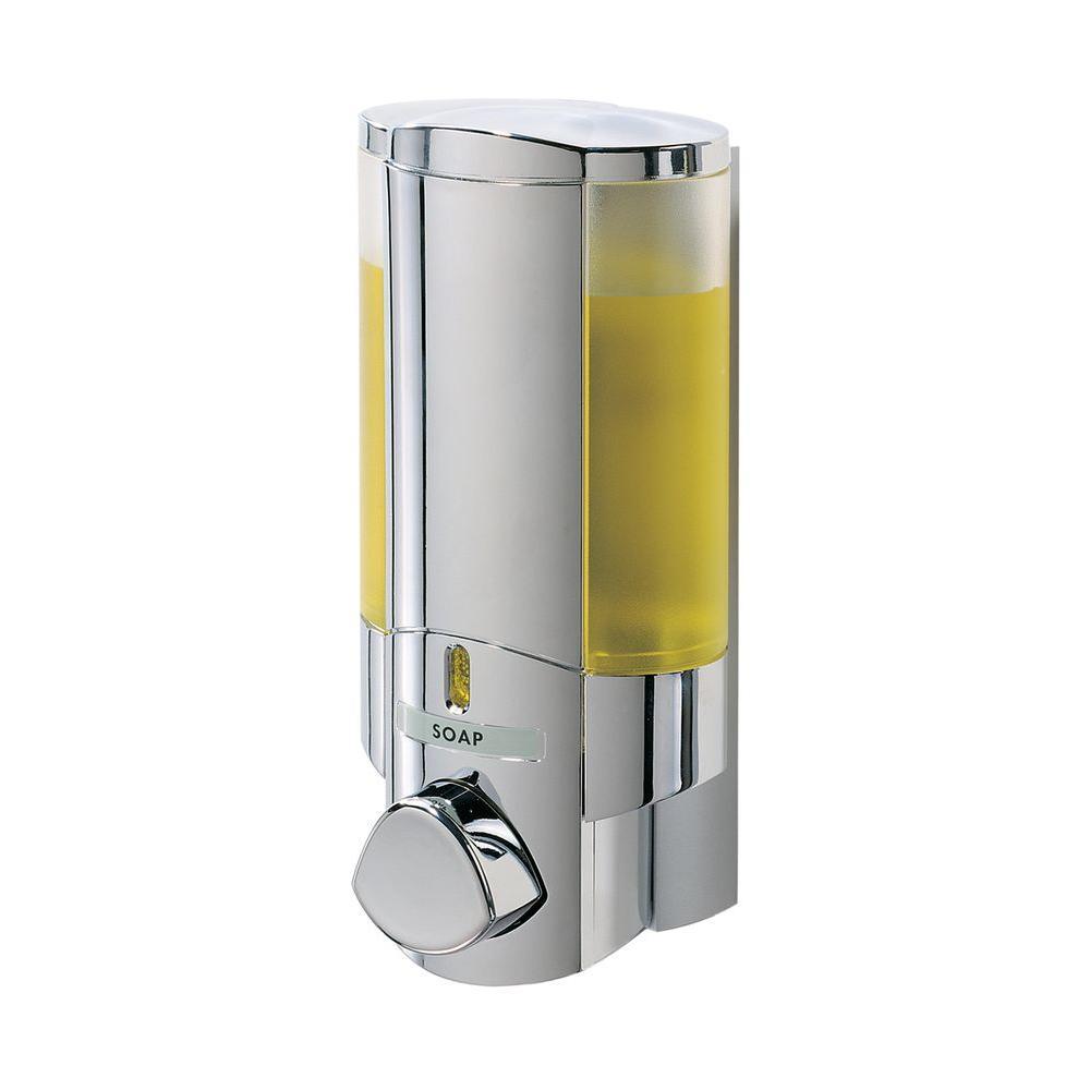 Better Living Aviva Single Dispenser In Chrome Grey Wall
