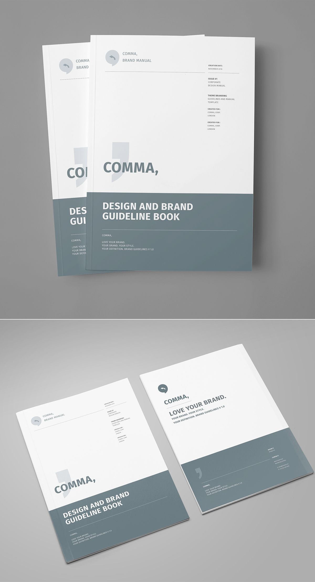 https://www.behance.net/gallery/34773975/Brand-Manual | Print Design ...