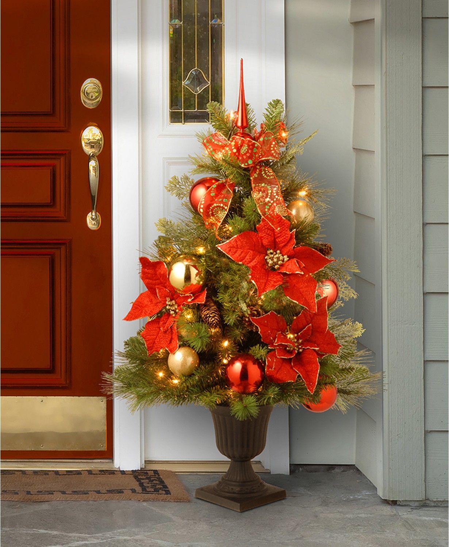 "National Tree Company 36"" Decorative Home For the Holidays"