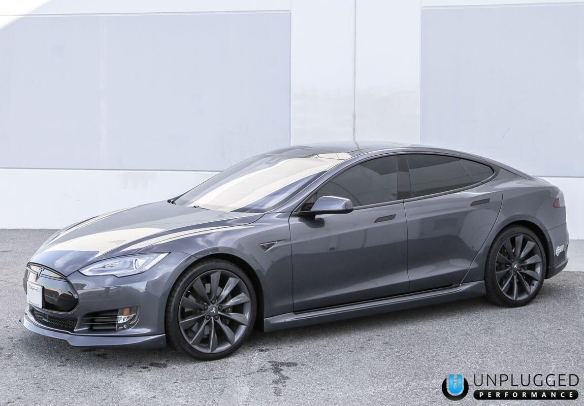 Unplugged Performance Side Skirt Set For Tesla Model S