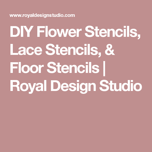 Skylars lace floral stencil lace stencil diy flower and stenciling our most popular lace stencils skylars lace floral stencil was featured in the spring 2011 issue of better homes gardens do it yourself magazine solutioingenieria Image collections