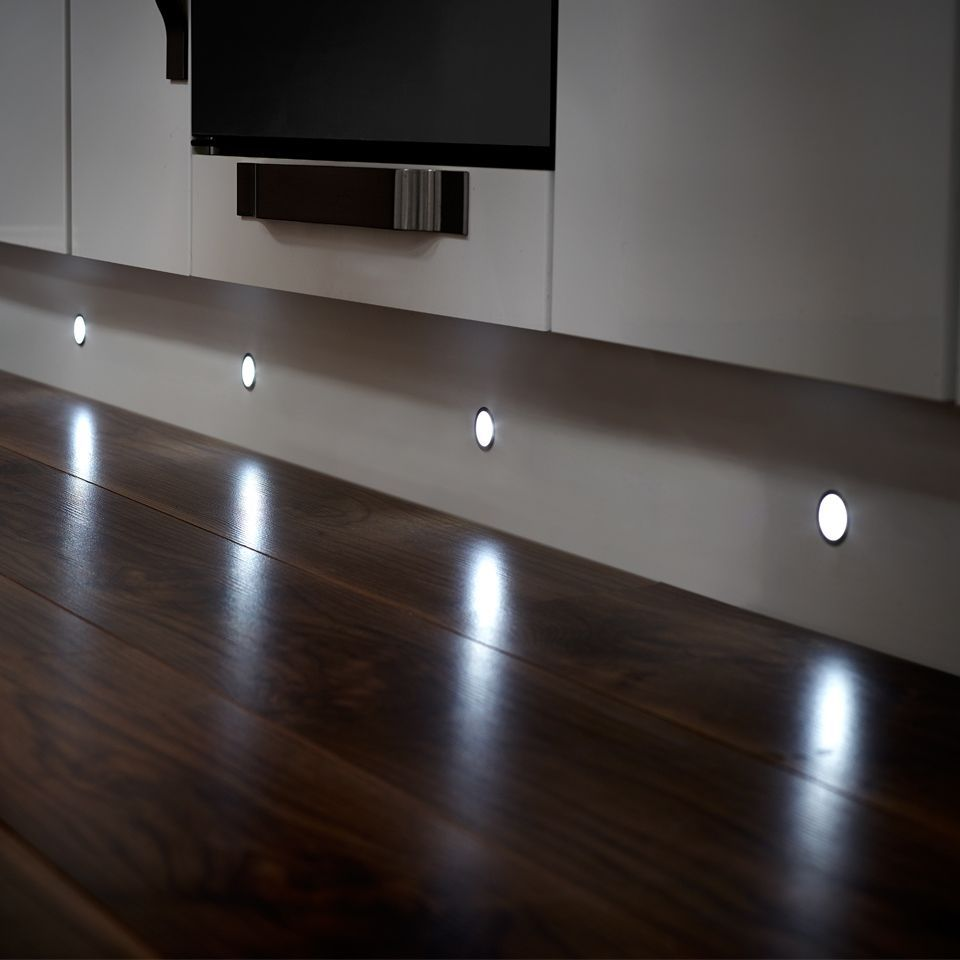 Led Kitchen Plinth Lights A sensio nimbus 6 x ip67 led round plinth light pack available to a sensio nimbus 6 x ip67 led round plinth light pack available to buy online now at socket store workwithnaturefo