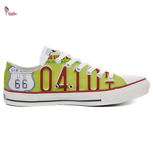 Converse Customized Chaussures Personnalisé et imprimés UNISEX (produit  artisanal) Slim Plate Style - size EU33 - Chaussures mys ( Partner-Link) 69c89472353f1
