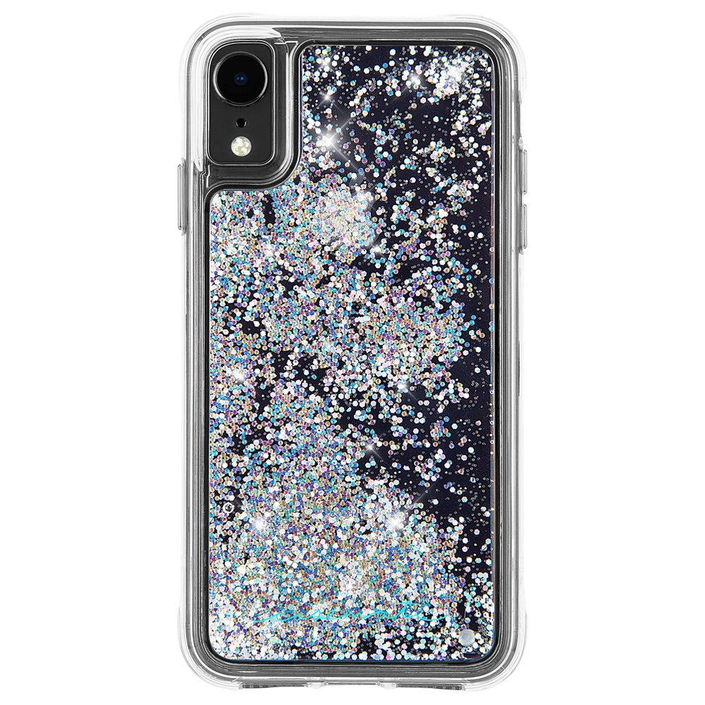 Case Mate Waterfall Case For Apple Iphone Xr Iridescent In 2020 Glitter Iphone Case Glitter Iphone Case Liquid Glitter Phone Cases Iphone