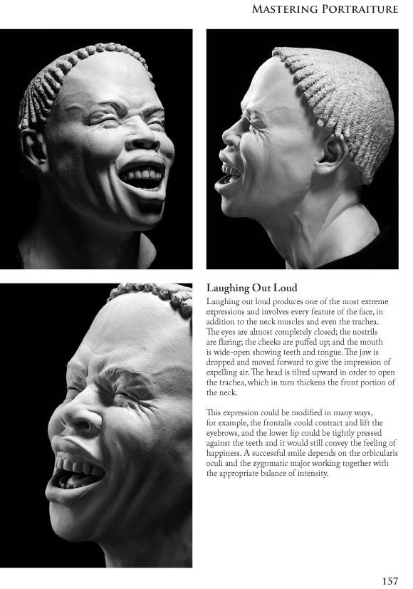 Philippe Faraut (US) sculpture lessons: expression > laughter ...