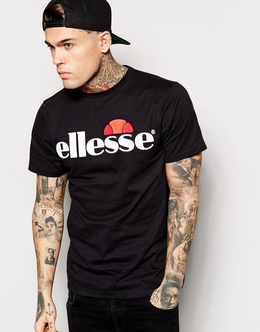 Ellesse t shirt white womens - Ellesse T Shirt With Classic Logo