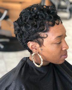 Acconciature per donne nere con capelli sottili | Capelli ...