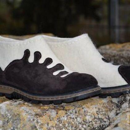 074025ac8 Обувь ручной работы. Ярмарка Мастеров - ручная работа. Купить Туфли валяные