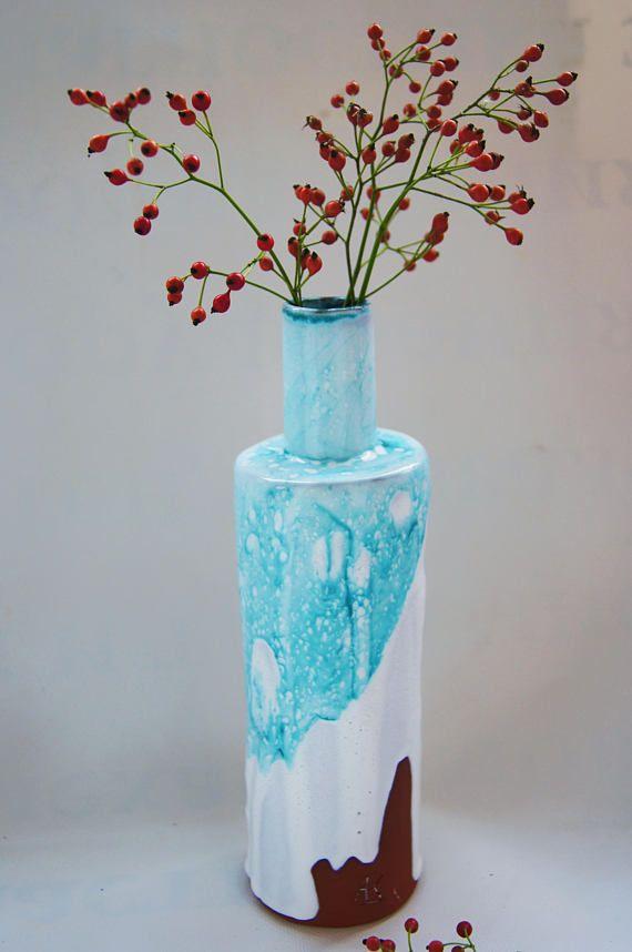 Ceramic Vase Handmade Ceramic Vase Rustic Vase Flower Vase