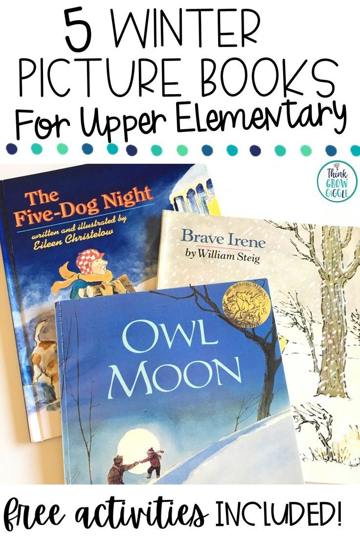 5 Winter Picture Books For Upper Elementary Classrooms In 2020