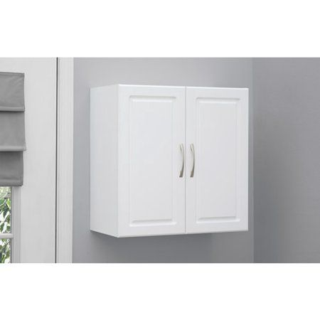 """free 2-day shipping. buy systembuild 24"""" wall cabinet, white at"""