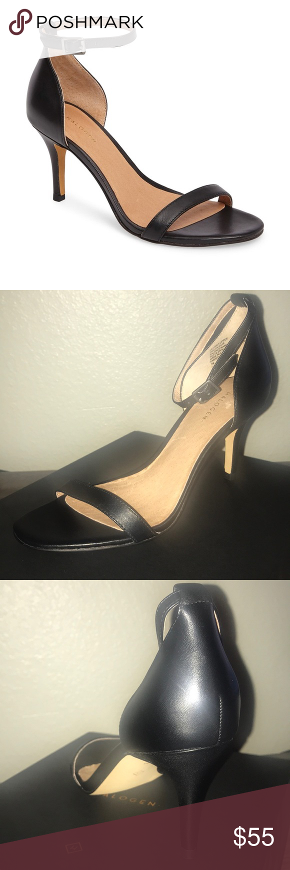 0afe3a0a534 Halogen - Audrey Ankle Strap. Never worn. They re beautiful just