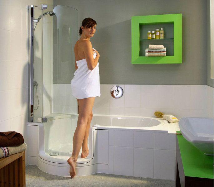 Ein- und Ausstieg | TWINLINE 1 Duschbadewanne | Bad | Pinterest | {Duschbadewanne mit tür 42}