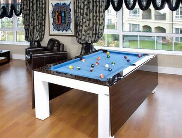 Furniture Kitchen Amazing Dining And Billiard Table For Small Es