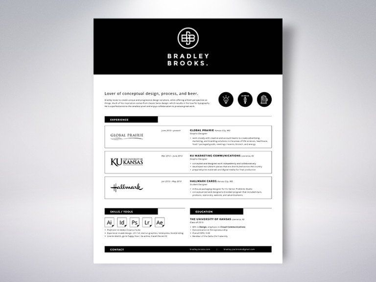 50 Inspiring Resume Designs And What You Can Learn From Them - resume website design