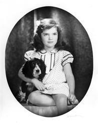 """When Jacqueline Bouvier attended Miss Chapin's School in New York. Miss Platt, one of her teachers, said: """"a darling child, the prettiest little girl, very clever, very artistic, and full of the devil.""""    Miss Ethel Stringfellow, headmistress of the school, wrote on one report card: """"Jacqueline was given a D in Form because of her disturbing conduct in her geography class made it necessary to exclude her from the room."""""""