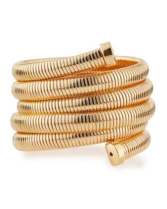 Kenneth Jay Lane Tapered Golden Hinge Bracelet t8kCyls