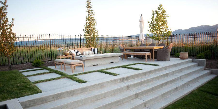 Concrete Patio Design Ideas, and Cost Concrete patio