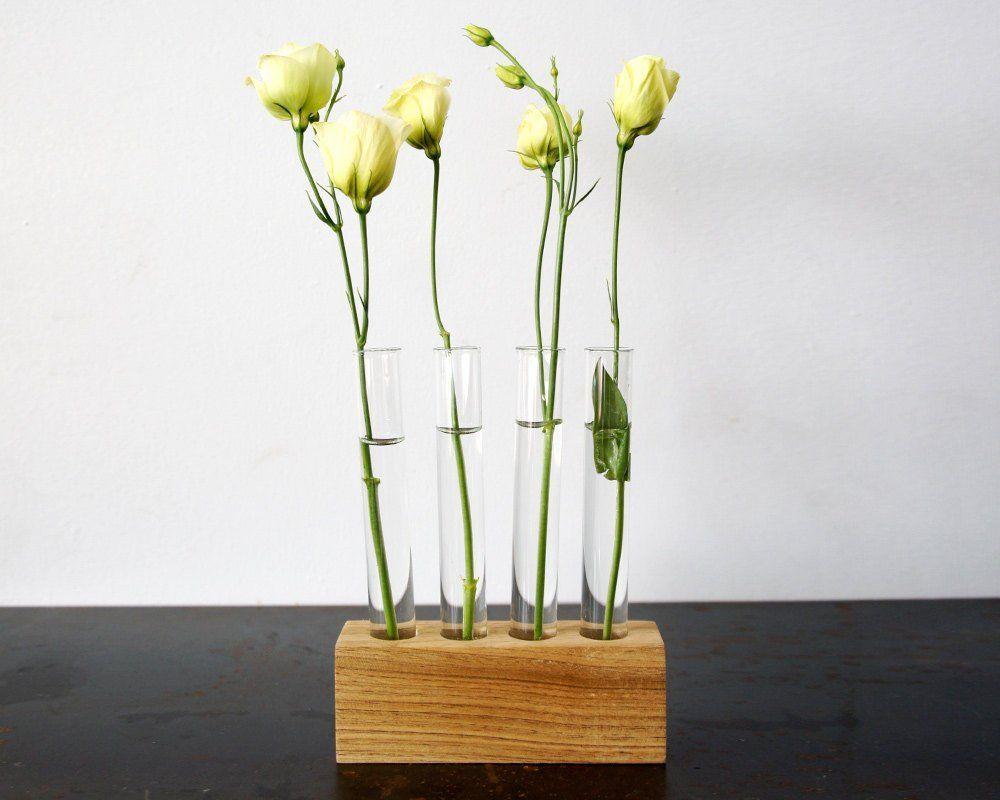 Test Tube Flower Bud Vase Visit