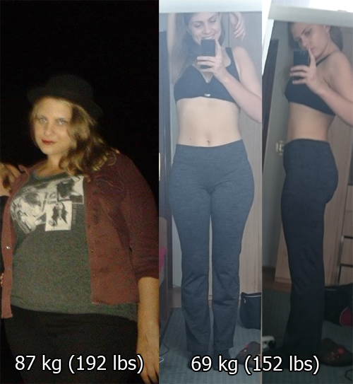 collegeandfitness submitted 173 cm 5 8 left weight loss pics weight loss and weight