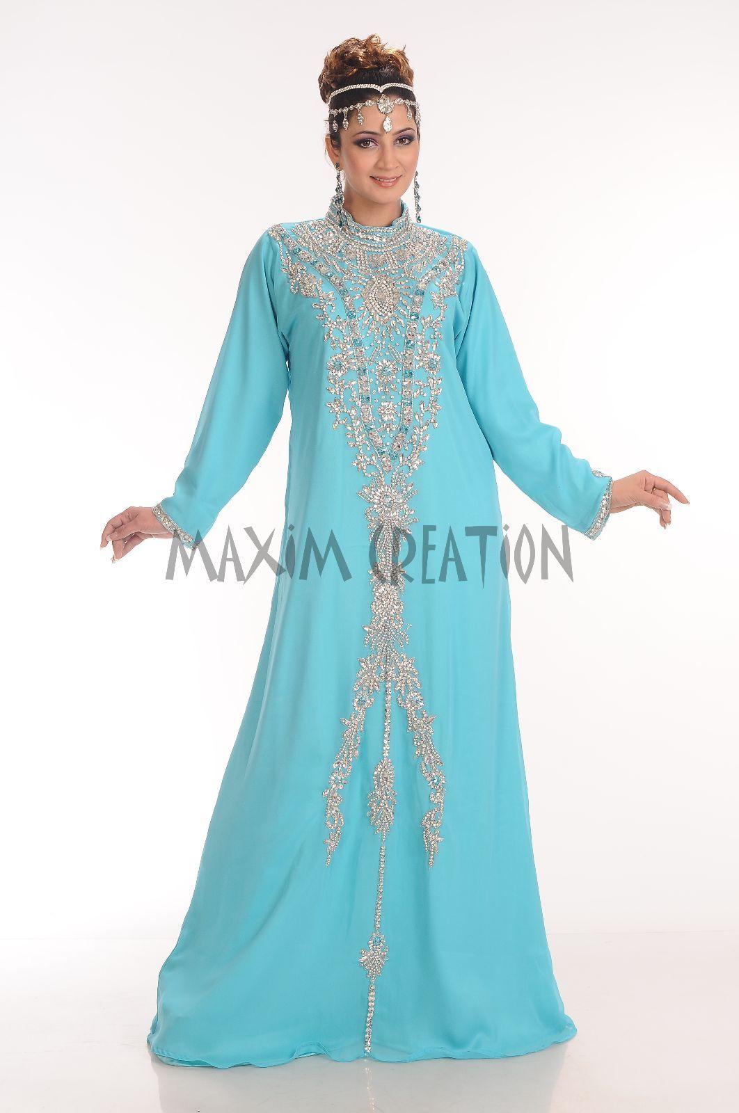 Wedding Dress, Gown, Renaissance Royal Kaftan Fancy Thobe Islamic ...