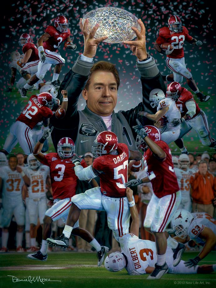 A Crimson Tradition By Daniel A. Moore Alabama crimson