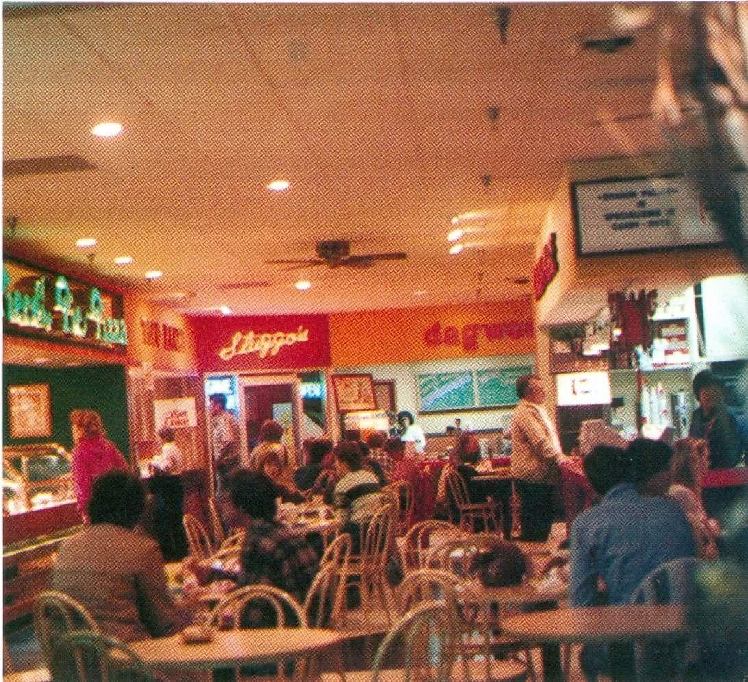 1985 Food Court At East Park Plaza Lincoln Ne Lincoln Nebraska Nebraska Lincoln