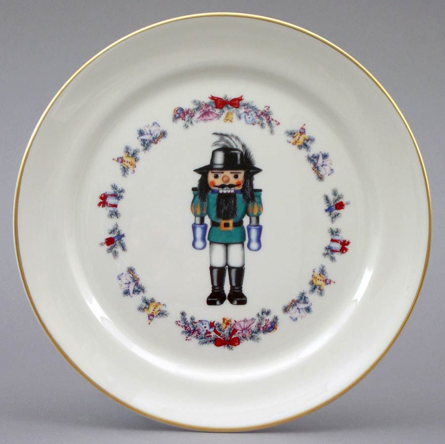 Christmas Nutcracker Plate from Holidays by Pickard China & Christmas Nutcracker Plate 8¼
