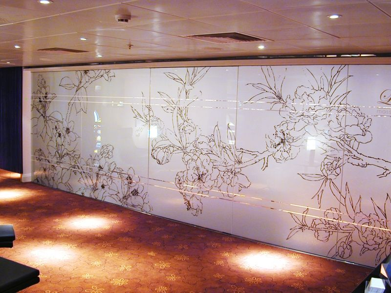 Glass Wall Covering Doesnu0027t Compromise On Light But Offers Privacy For A  Meeting Room