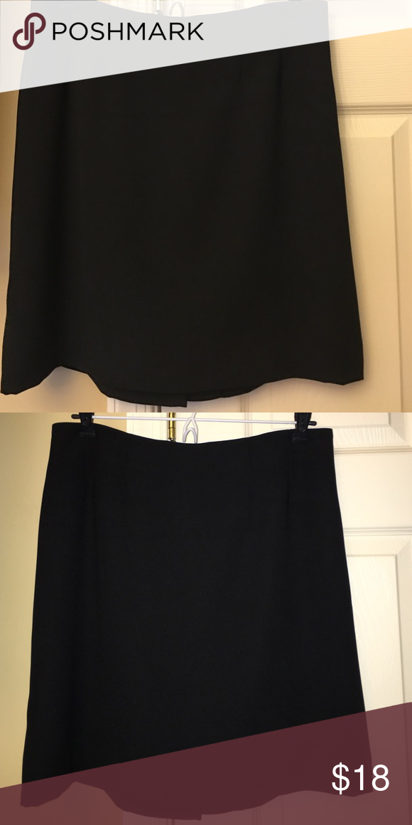 Ellen Figg black skirt Ellen Figg black skirt. No flaws! Size 10. Offers accepted 😊 ellen figg Skirts Midi