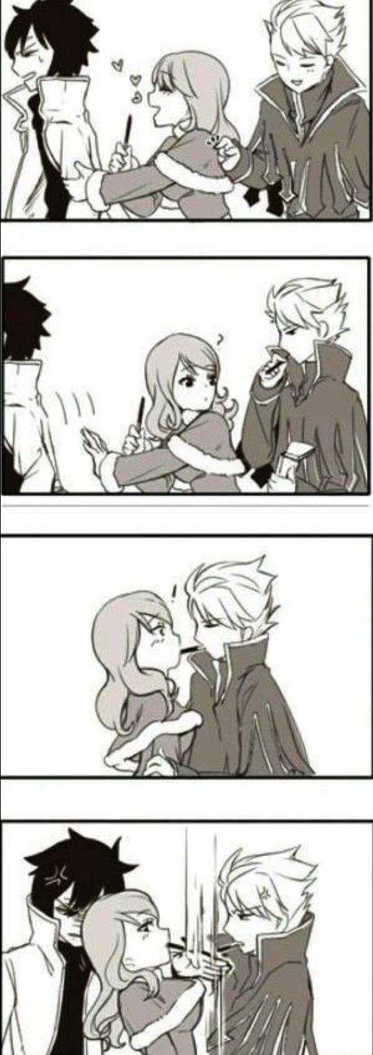 Gray you're a tsundere? Hahahah xD ~Fairy Tail