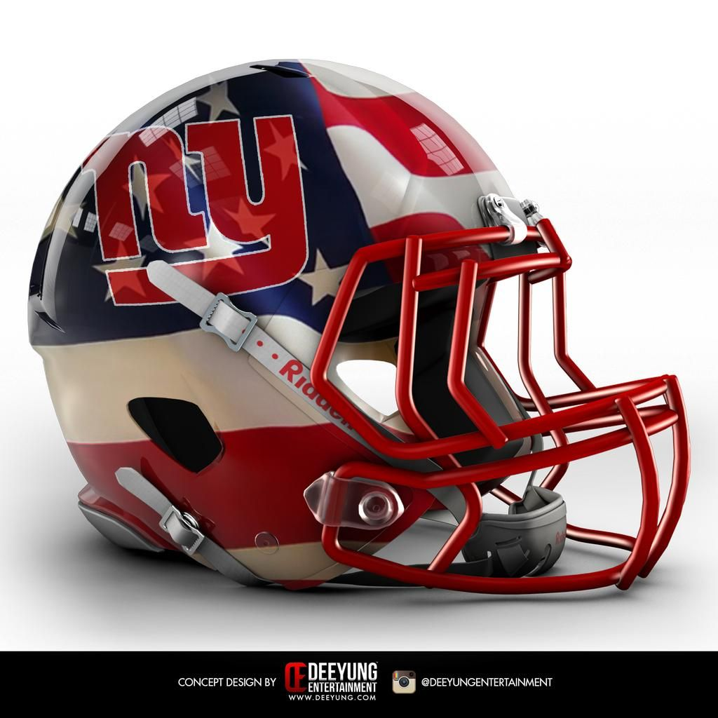 NFL Concept Helmets | giants | Football helmets, Nfl football  for sale