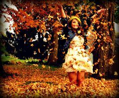 autumn portrait idea