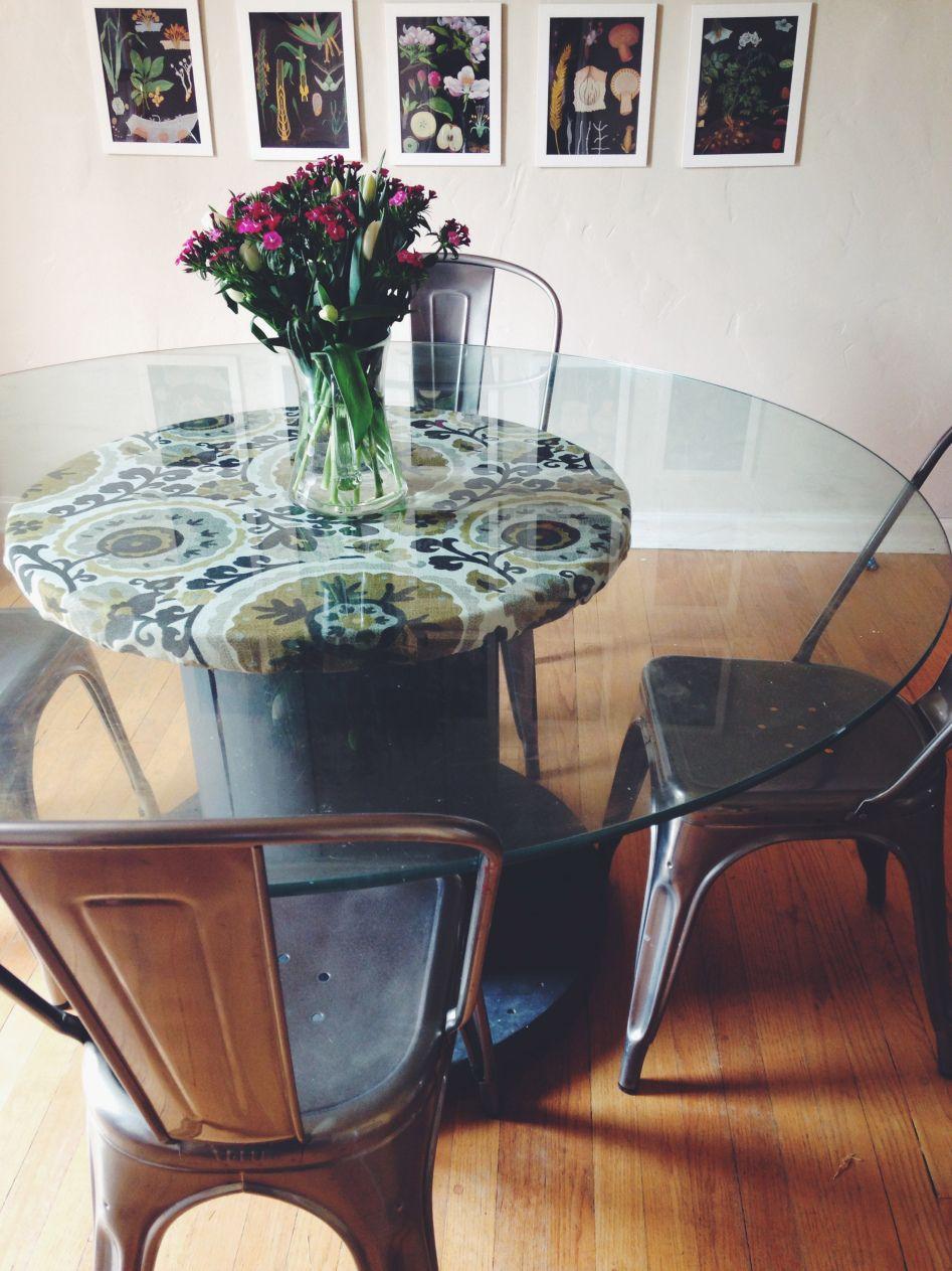 Wire spool table | Jenn Goodrich Design | Re-Scape Furniture, Mixed ...