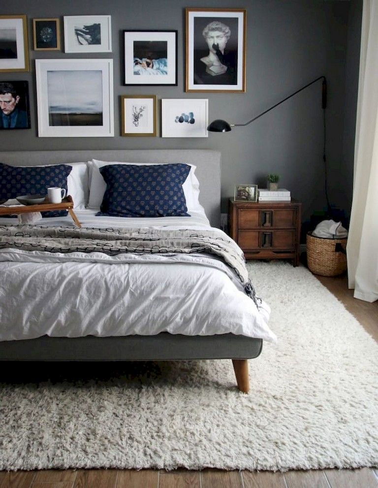 72+ Cozy & Simple Rental Couple Apartment Decorating Ideas #bedroomideasforsmallroomsforcouples