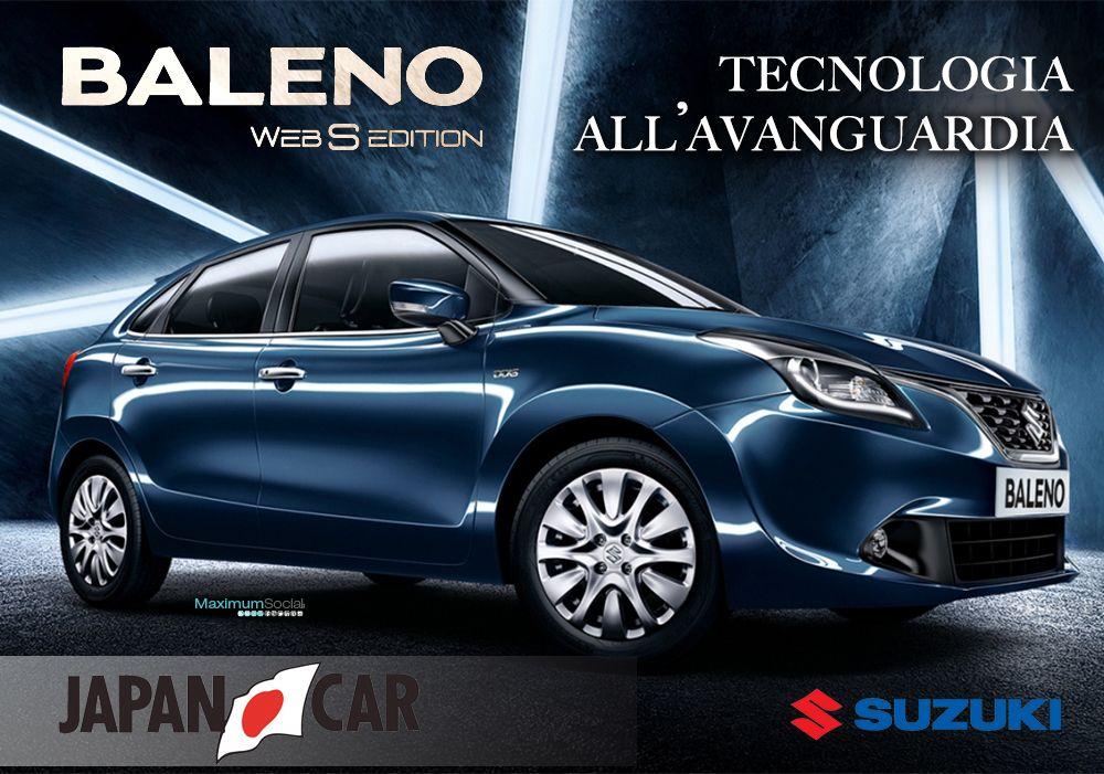 Vieni a scoprire da Japancar Rimini la nuova Suzuki #Baleno Web S Edition. Ci trovi a #Rimini in Via Ausa,40. Ti aspettiamo! Per maggiori info: 0541 759855 http://shop.suzuki.it/auto/baleno-web-s/